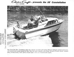 Chris Craft Constellation 28 Specifiction Brochure