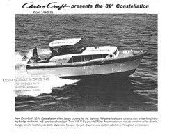 Chris Craft Constellation 32 Specifiction Brochure