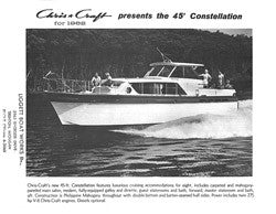 Chris Craft Constellation 45 Specifiction Brochure