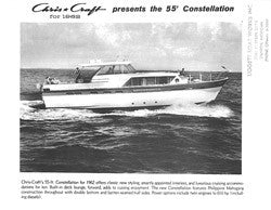 Chris Craft Constellation 55 Specifiction Brochure