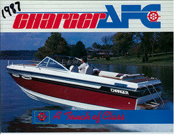 Charger 1987 Sport Boat Brochure