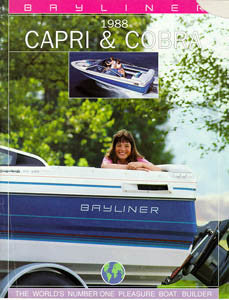 Bayliner 1988 Capri & Cobra Brochure
