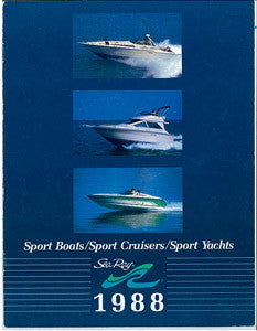 Sea Ray 1988 Full Line Brochure