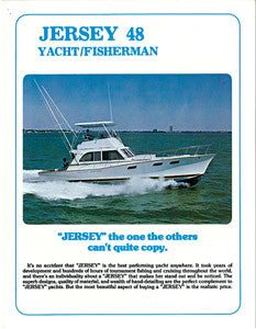 Jersey 48 Yacht Fisherman Brochure