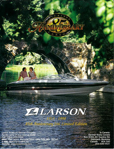 Larson 206 Limited Edition 85th Anniversary Brochure