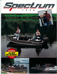 Bayliner 1990 Spectrum Brochure