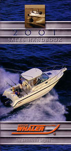 Boston Whaler 2001 Sales Handbook