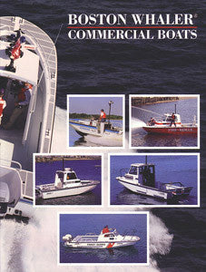 Boston Whaler 1989 Commercial Boats Brochure