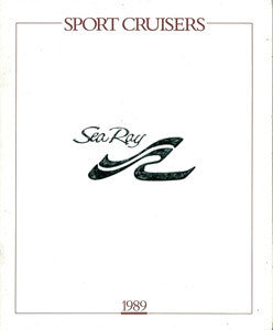 Sea Ray 1989 Sport Cruisers Brochure