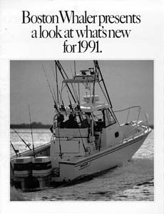 Boston Whaler 1991 New Models Brochure