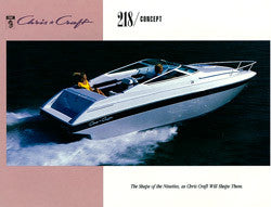 Chris Craft 218 Concept Brochure