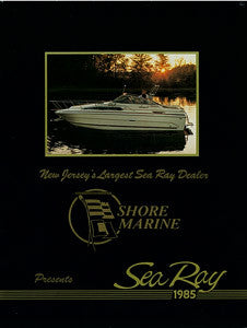 Sea Ray 1985 Full Line Brochure