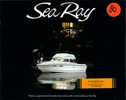 Sea Ray 1980 Brochure