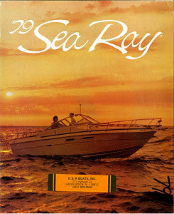 Sea Ray 1979 Brochure