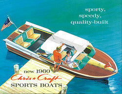 Chris Craft 1960 Sport Boats Brochure