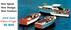 Chris Craft 1960 Sea Skiff Mini Brochure