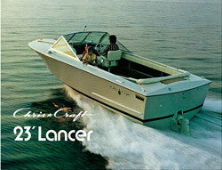 Chris Craft Lancer 23 Brochure