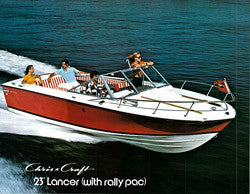 a chris craft corsair lancer sailinfo i boatbrochure com rh boatbrochure com 24 Chris Craft Lancer Express 1976 Chris Craft Lancer