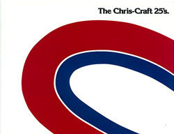 Chris Craft 25 Launch Brochure