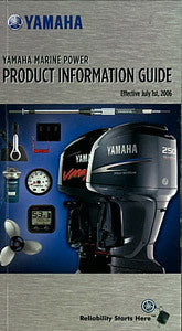 Yamaha 2007 Engine Fact Brochure