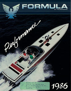 Formula 1986 Performance Brochure