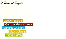 Chris Craft 1971 Full Line Brochure