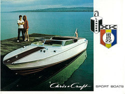Chris Craft 1972 Lancer XK Brochure