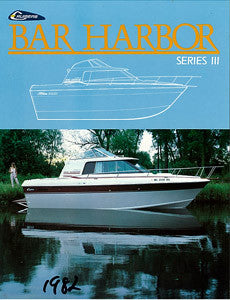 Cruisers Bar Harbor Series III Brochure