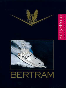 Bertram 54 Convertible Brochure