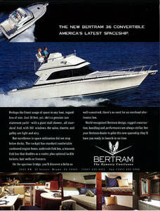 Bertram 35 Convertible Brochure