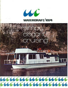 Watercraft 1974 Houseboat Brochure