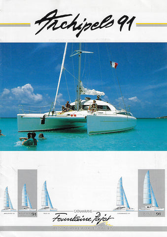 Fountaine Pajot 1991 Brochure