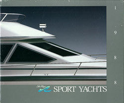 Sea Ray 1988 Sport Yachts Brochure