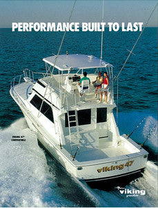 Viking 47 Convertible Brochure