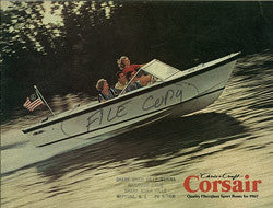 Chris Craft 1967 Corsair Brochure