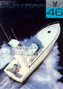 Bertram 46 Moppie Brochure