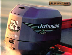 Johnson 2000 Outboard Brochure