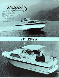 Uniflite 23 Cruiser Brochure