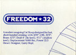 Freedom 32 Poster Brochure
