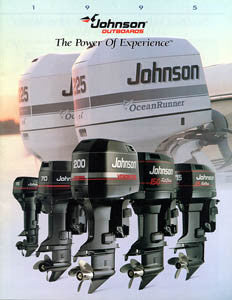 Johnson 1995 Outboard Brochure