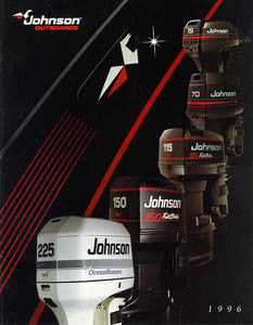 Johnson 1996 Outboard Brochure