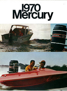 Mercury 1970 Outboard Brochure