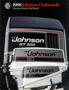 Johnson 1988 Outboard Brochure