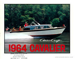 Chris Craft 1964 Cavalier Brochure