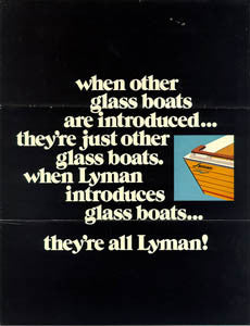 Lyman Fiberglass Introdution Brochure