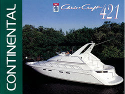 Chris Craft Continental 421 Brochure