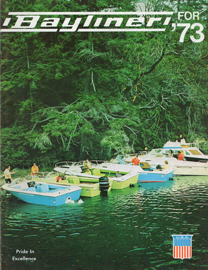 Bayliner 1973 Brochure