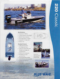 Blue Wave 220 Classic / Striper Brochure