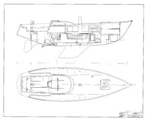 Columbia 39 Interior Arrangement  Plan - Page 2