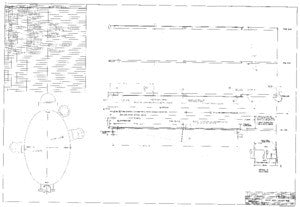 Columbia 39 Mast Assembly  Plan - Short Rig